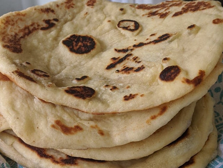 """Naan""-Traditional Naan Recipe"