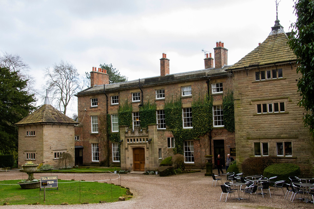 Hopton Hall, located in Derbyshire. This is located in the middle of the snowdrop walk, which is held between the months of January - March.