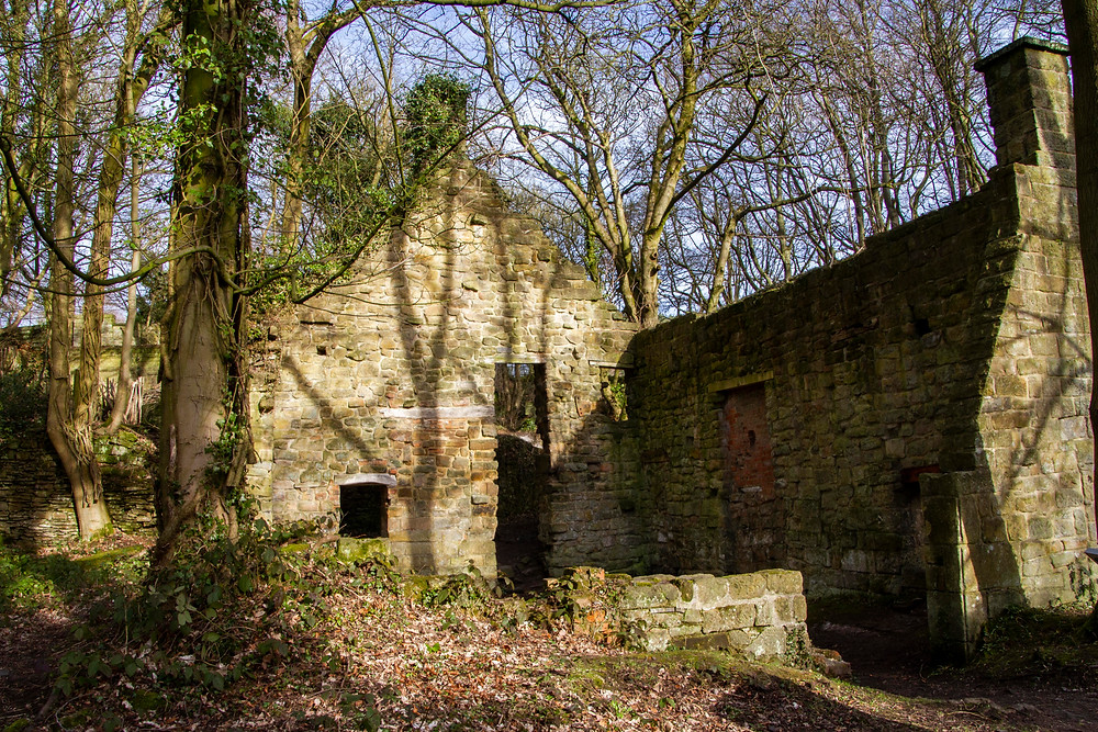 Remains of a Mill located in Lumsdale Valley, Matlock.