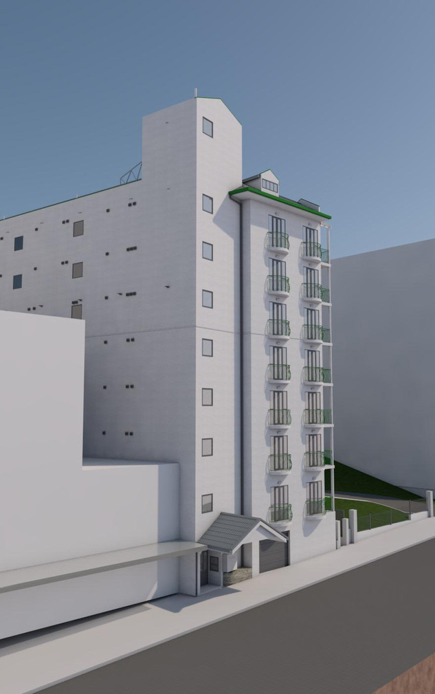 Existing Perspective View 5
