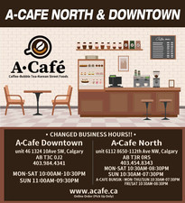 A-Cafe North & Downtown 지점안내