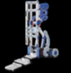 Expresso-nokkakärryjen modulaarinen rakenne