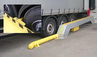 Automaattinen Stop Trucks kuormankäsittelyn turvajärjestelmä