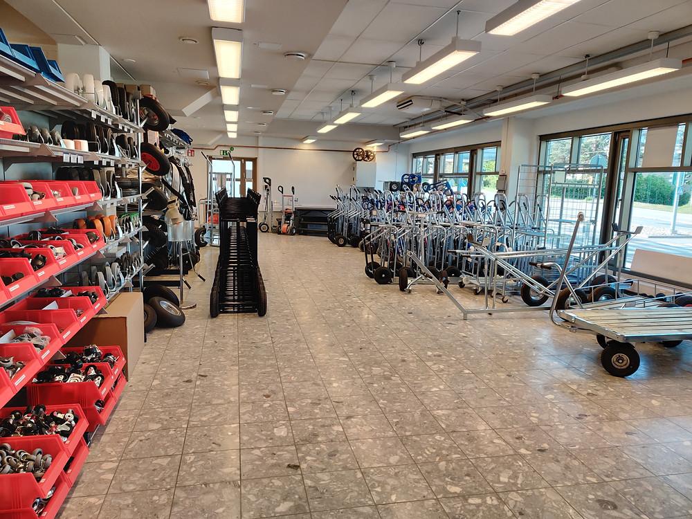 Rengastalon myymälä Malmilla
