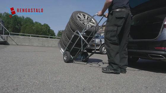 Rengastalon rengaskärry RT 134X esittelyvideo