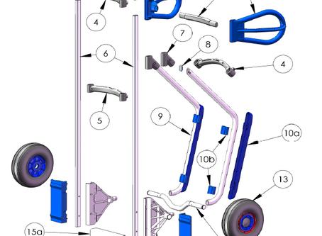 Ikuiset modulaariset Expresso-nokkakärryt