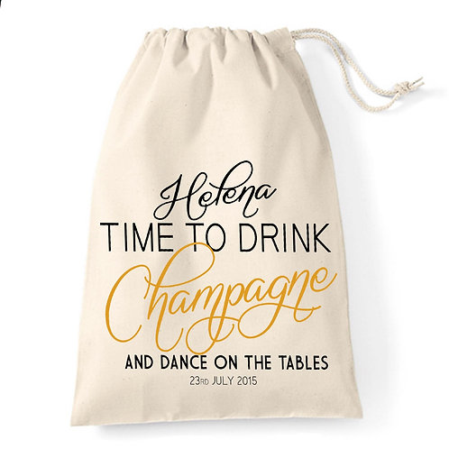 Time to Drink Champagne Gift Bag