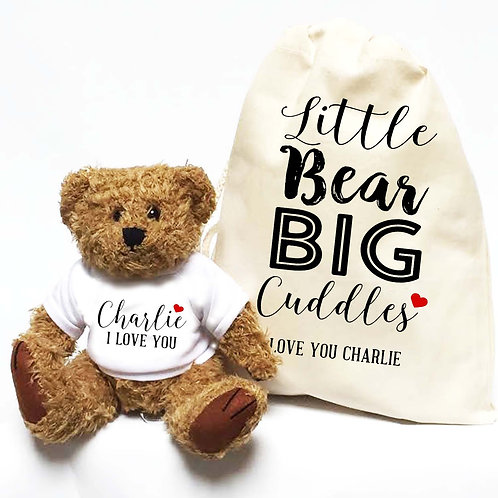 Little Bear Big CuddlesTeddy Bear Gift