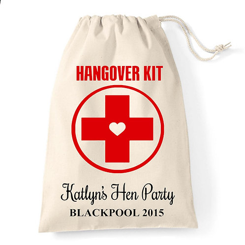 Hen Party Hangover Kit Gift Bag