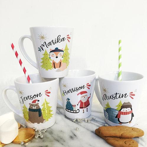 Personalised Christmas Mug