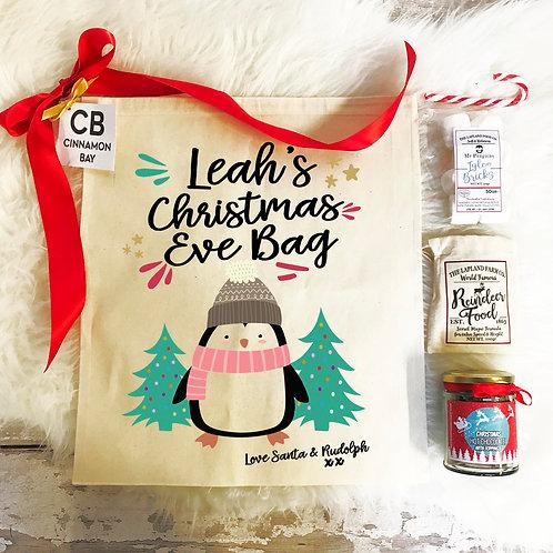 Christmas Eve Penguin Pre Filled Gift Set