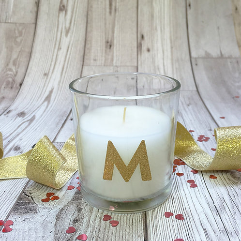 Wedding day candle, for the Bridesmaid,