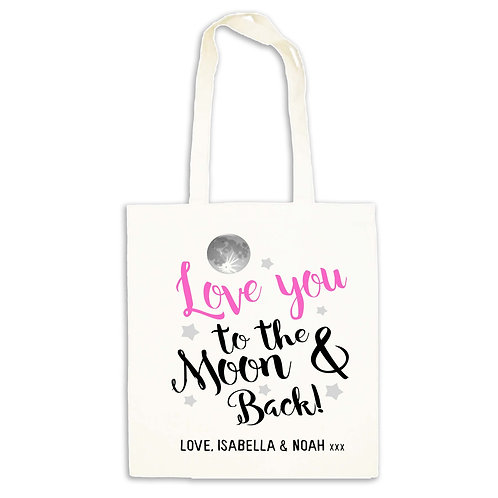 Mother's Day tote bag gift.