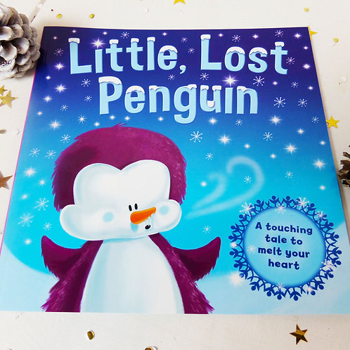 LITTLE LOST PENGUIN Christmas book