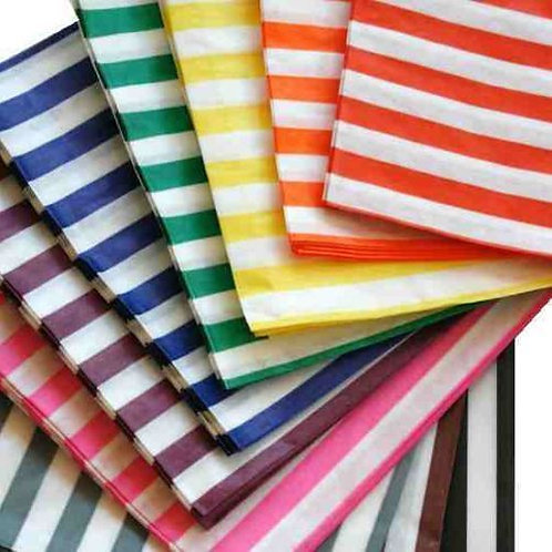 Candy buffet paper bags. Pack of 25.