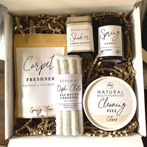 Spring Cleaning care package for your home