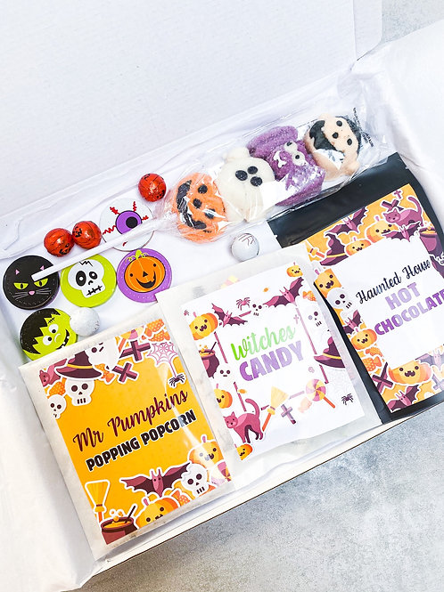 The Halloween Night In Box with name