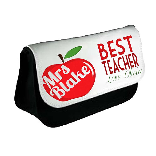 Big Red Apple Pencil Case