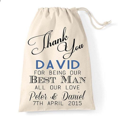 Gift Bag for Best Man/ Usher
