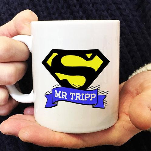 SuperHero Mug Great teacher gift