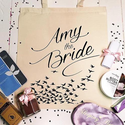 Bride pamper night PREFILLED tote