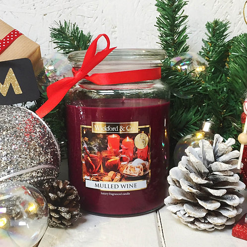 Large Jar Christmas Scented Candles
