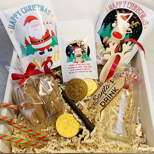 Personalised Children's Christmas Eve Treat Box
