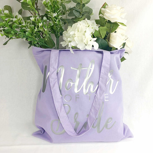 Mother of the Bride Sash and Tote Bag