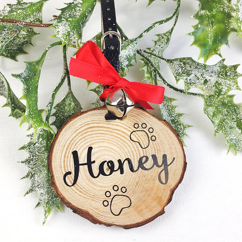 Personalised Pet Christmas Decoration