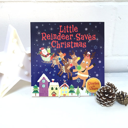Little Reindeer Saves Christmas Book