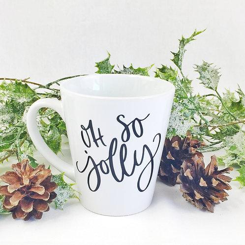 Christmas Mug, personalised with names