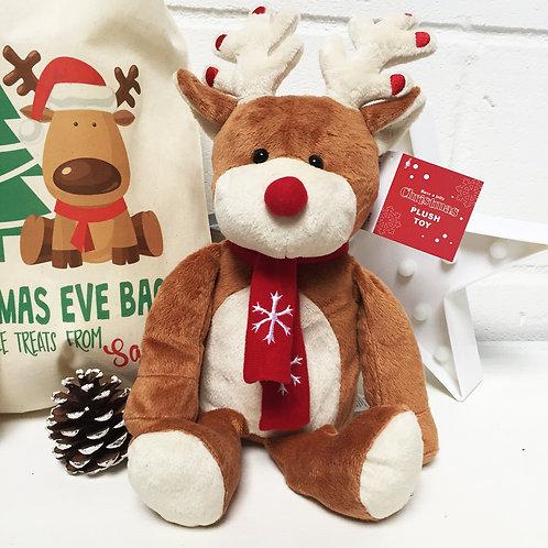 Cute Plush Reindeer Christmas gift