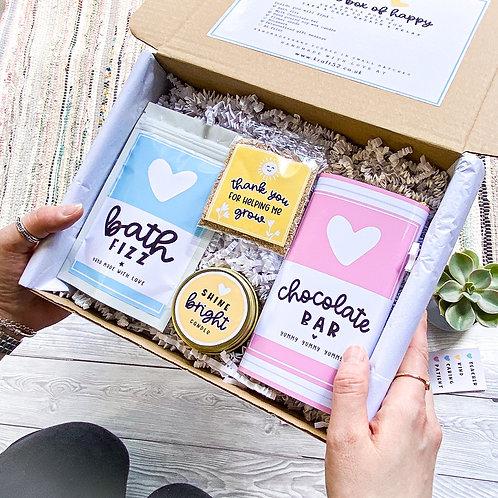 Thank you Teacher Self Care Gift Box