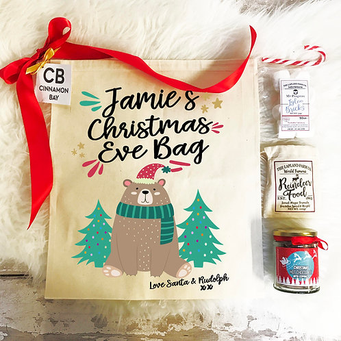 Christmas Eve Bear Pre Filled Gift Set