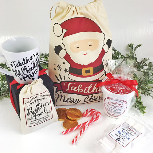 Pre filled Personalised Christmas Eve Bag