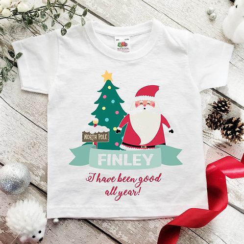 Christmas T-Shirt for boy or girl.