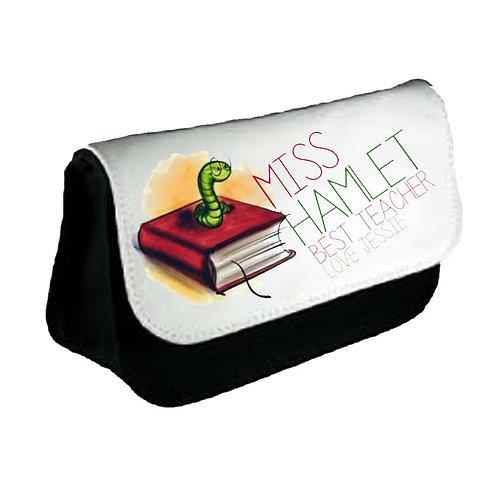 Bookworm Pencil Case
