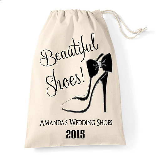 Beautiful Shoes large bag for the Bride