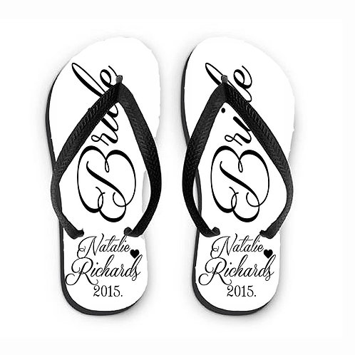 Flip Flops for the Bride