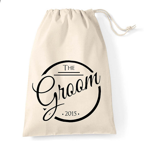 The Groom Elegant gift bag