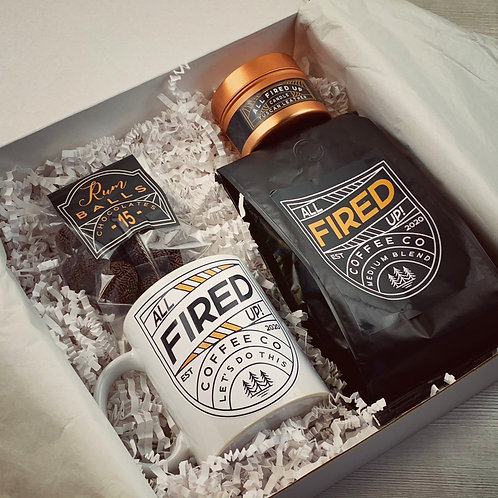 All fired Up Coffee Box