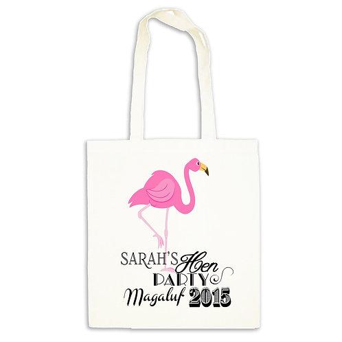 Flamingo Summer Tote Bag