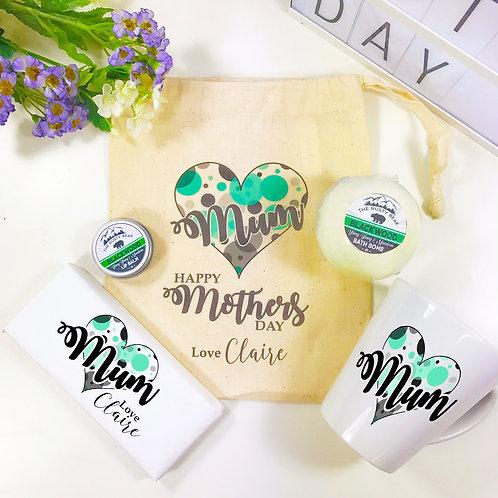 Personalised Mothers Day Latte Mug Gift Set