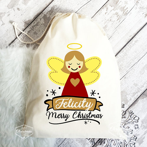 Christmas Santa Sack | Angel