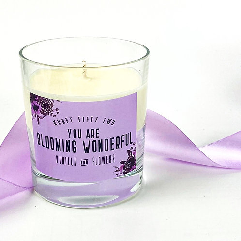 Blooming Wonderful Candle