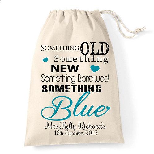 Something Old Something Blue gift bag