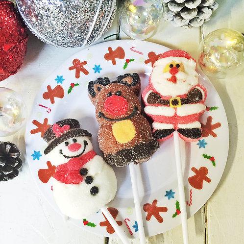 Giant Christmas marshmallow lolly stocking filler