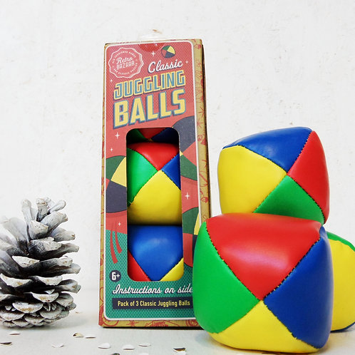 Retro JUGGLING BALLS great family fun