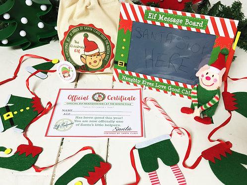 Little Elf decoration gift set