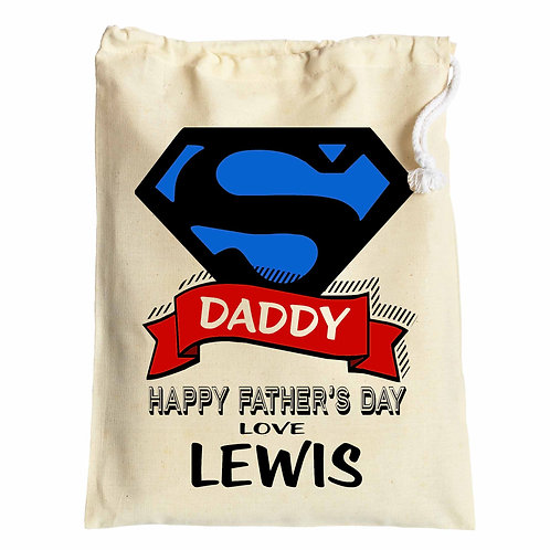 Super Hero Father's Day Gift bag